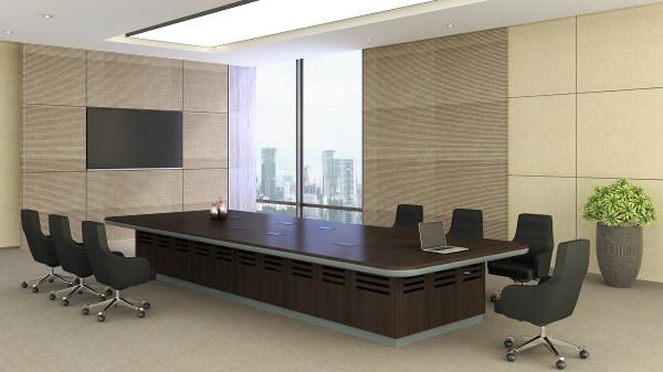埃格爾 會議桌  胡桃木皮QMS-32  5400-